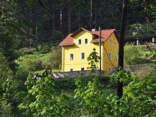 Ferienhaus Kirnitzschtal in der Sachsischen Schweiz