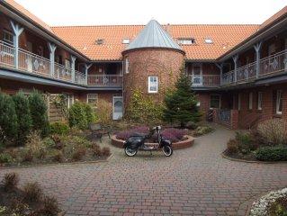 Urgemutliche kleine Dachgeschosswohnung mit Balkon und Loggia in Kustennahe