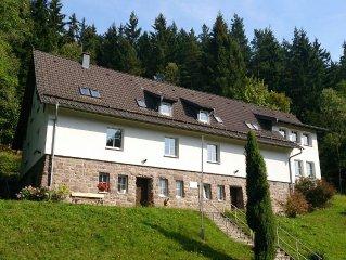 Ferienhaus Lutsche - direkt am Stausee im Thuringer Wald