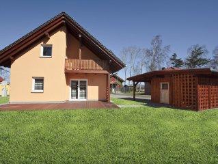 Ferienhaus fur 6 Personen in idyllischer Lage mit Sauna, allergikerfreundlich