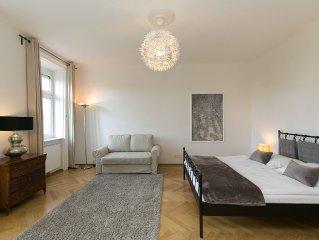 City Apartment Klimaanlage 81m2 Wohnen mit Blick ins Grüne