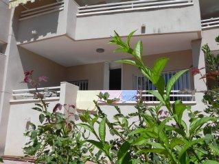 80qm Wohnung, am Strand, 2 Schlafzimmer, 4 Personen, Sat-TV, Balkon/Terrasse