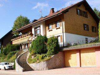Gemutli. Ferienwohnung 2 - 3 Pers. im herrlichen Sud-Schwarzwald am Ortsrand