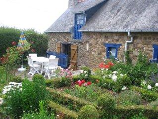 Ruhiges Steinhaus mit Garten in idyllischer Umgebung