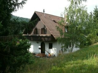 Detached house with large garden, suitable for families with children