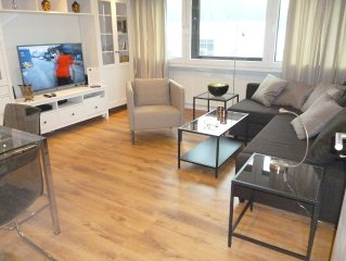 3-room Comfort apartment, centrally located - just 5km from the airport / Alste