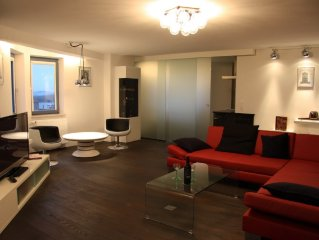 Exclusive and luxuröse Designer apartment in the
