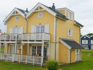 Pippi´s Ostsee-Traum - Ostseeblick, Strandlage, Sauna, Kamin, ideal für Familien