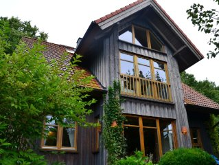 Child-friendly, south garden, directly at the nature reserve and golf course