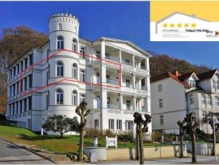 Traum FeWo mit Turmzimmer, Wintergarten, Sauna, Balkon (Heizstrahler), Kaffeebar