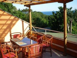 Genießen Sie den Urlaub in einer wunderschönen Villa in Natur-pur üb. dem Strand