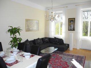 Sonniges Apartment nahe Wiener Prater für bis zu vier Personen
