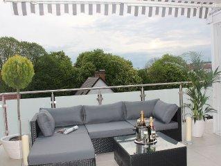 Exclusives Terrassen Maisonette Penthouse im Herzen von München