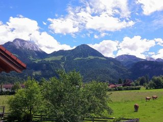 ☆☆☆☆ apartment for 2 people in a quiet location with mountain views