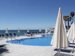 Luxuriöses Penthouse mit Meerblick in traumhafter Anlage (50 m zum Strand)