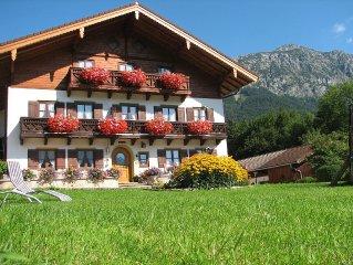 Erholsame Urlaubstage inmitten herrlicher Bergwelt im Landhaus Heisenbauer.