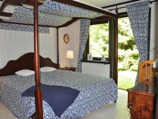 Traumhaus am See in Smaland -Sauna, Kamin, Anglerboot, Internet, Garten mit Zaun