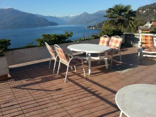 fantastic unobstructed views of the Lake and the surrounding mountains Maggiorre