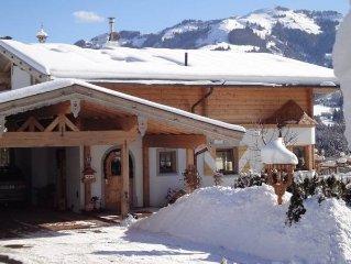 Privater Whirlpool und Sauna nach dem Skifahren - freiem Wireless Internet