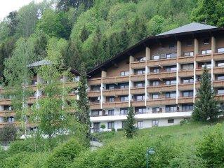 Gesunde Bergluft, Badesee, Wintersport, hauseigenes Hallenbad, Wandern, Radeln