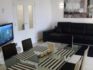 ruhige 90 qm Wohnung, neu- und hochwertig eingereichtet mit Klima, Strandnahe