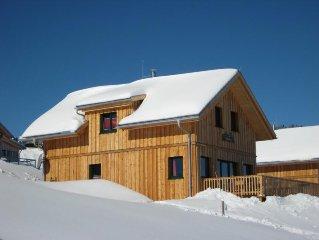 Luxurioses Ferienhaus mit Sauna, direkt an der Skipiste