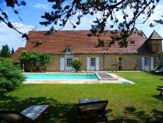 Exklusives Ferienhaus,privater Pool,Dordogne,Perigord,8 Personen