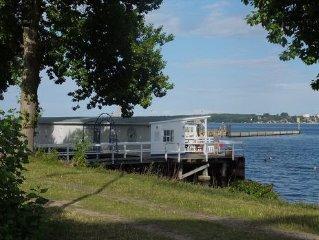Ruhige und charmante  Ferienwohnung für 4 Personen auf 72 qm mit Terrasse