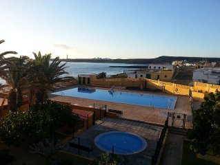 Fully equipped holiday apartment with beautiful sea view