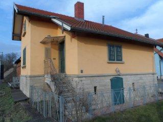 Monumental flagman cottage
