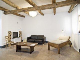 Modern renoviertes, komfortables, historisches Ferienhaus, nahe Meer, Wi-Fi