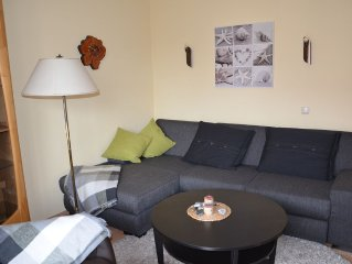 Lovingly decorated Fe-Where in quiet and central location in Zingst