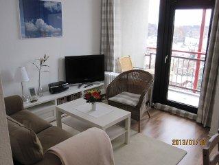 Komfortables Apartment Meerblick Schwimmbad und Sauna im Haus, strandnahe Lage