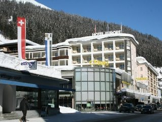 Comfortable apartment in the center of Davos, walking distance to the ski lift,