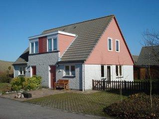 Ferienhaus am Meer,mit Sat.-TV,Telefon,WLan, gr. Terrasse und Grill,4 Fahrräder