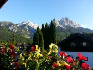 Sehr gemütliche  *** Ferienwohnung mit herrlichem Bergblick für 2 Pers.