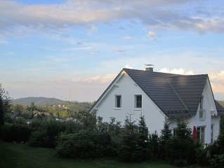 New cottage with sauna directly at the bobsleigh run, summer toboggan run, bike