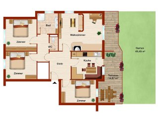 Appartement Lukas / Ferienwohnung in Umhausen