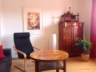 Sunny 3 room apartment with balcony and parking space