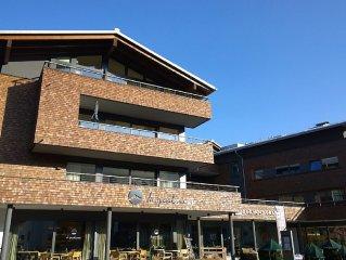 Neubau-Wohnung zentral im Ort mit Saunen & Aussenpool im Chalet-Hotel Hochgrat