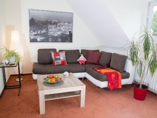 Comfortable apartment in Münster-Gievenbeck with balcony