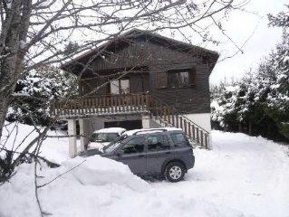 location chalet 6/7  personnes a Meaudre chalet ( isere)