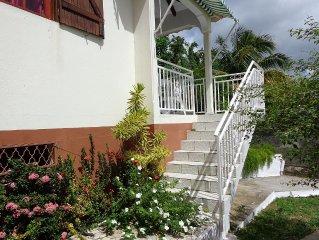 location bungalow à DESHAIES