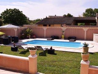 PROMOTION du15 au 28 juin Villa climatisee a 5 minutes du centre ville d'Avignon