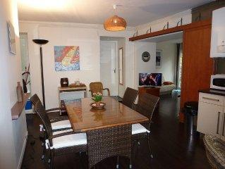 Appartement avec grande terrasse sur le Port de Pêche