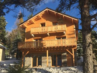 chalet of 12 beds spa and sauna located 200 meters from the slopes