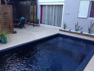 Charmante location avec piscine privée