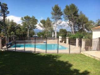 Villa provencale avec piscine entre Cannes et Nice