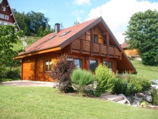 Nice chalet in the mountains high vosges (xonrupt-longemer)