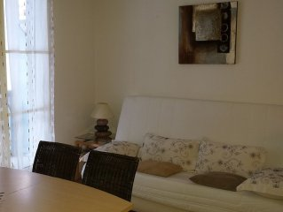 pretty T2 in recent residence, quiet, balcony, parking, *, near downtown